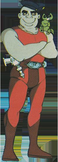 Le bon samaritain  Capitaine-flam-personnages-mala